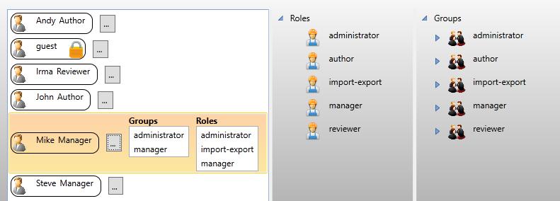 notusCSDB for S1000D user management